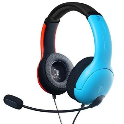Auricular Wired Azul y Rojo Gaming Switch