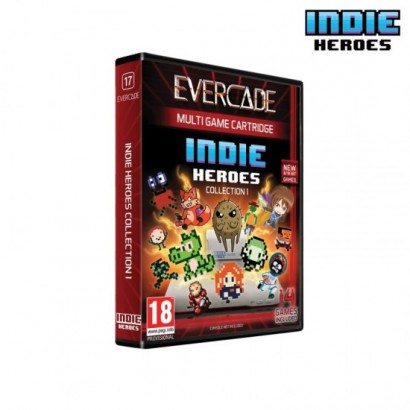 Cartucho Evercade Indie...
